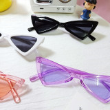 Kids Vintage Triangle Anti-UV Protection Fashion Sunglasses