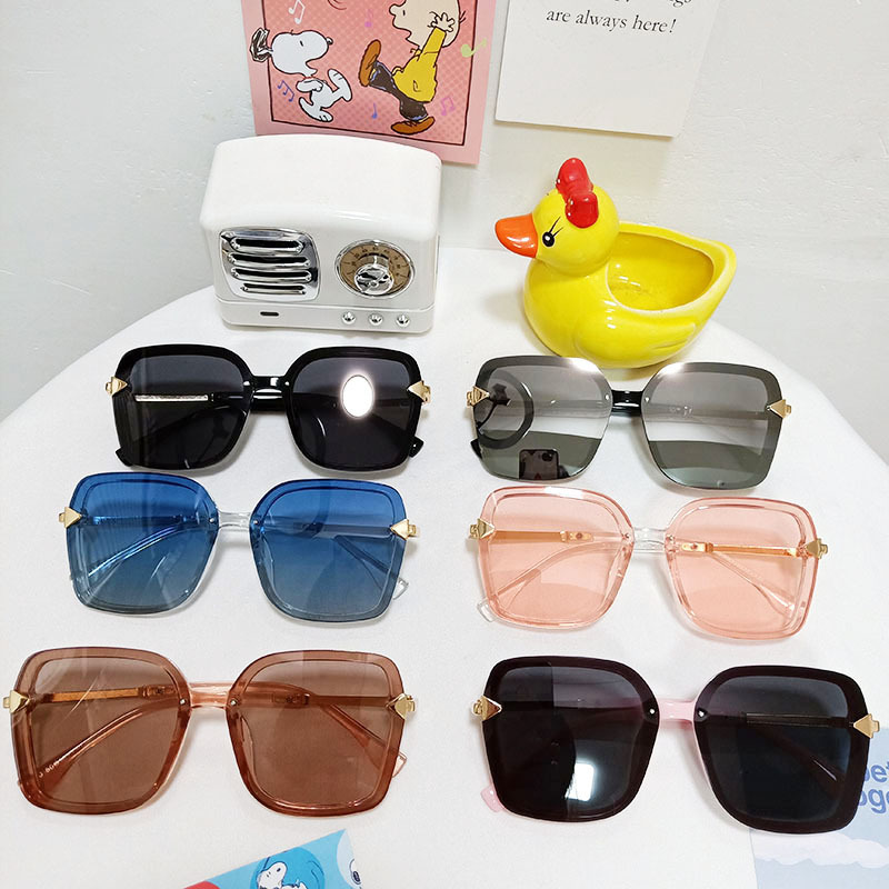 Kids Square Glasses Fashion Anti-UV Protection Sunglasses