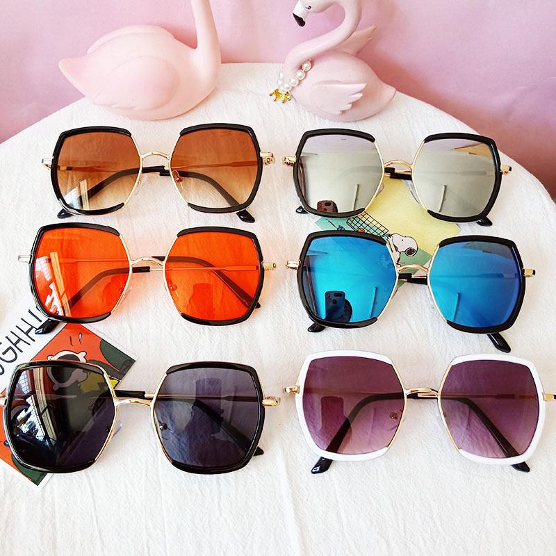 Kids Square Glasses Anti-UV Protection Fashion Sunglasses