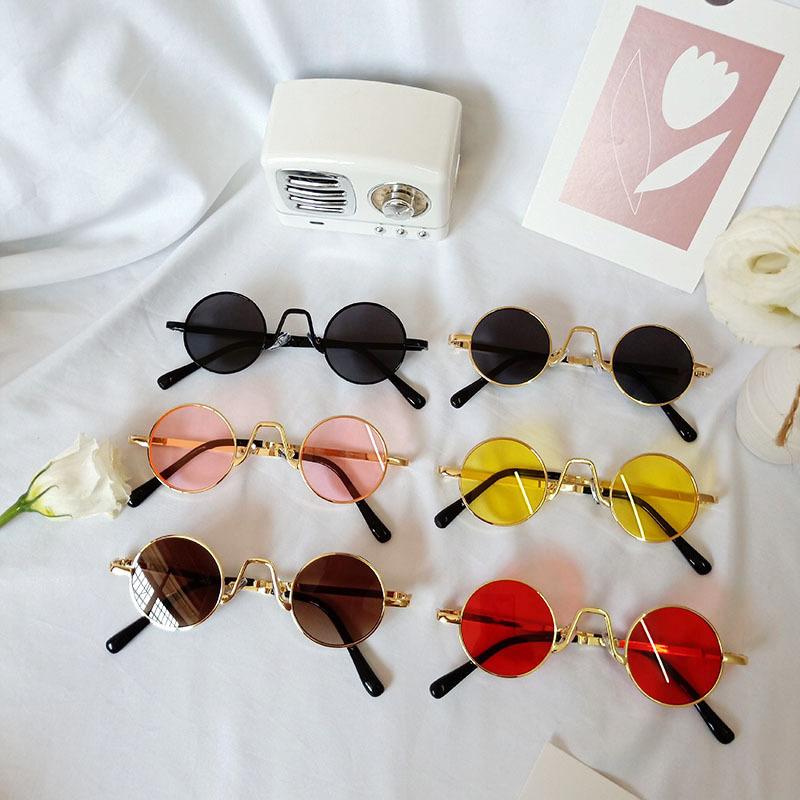 Kids Retro Catwalk Anti-UV ProtectionFashion Sunglasses