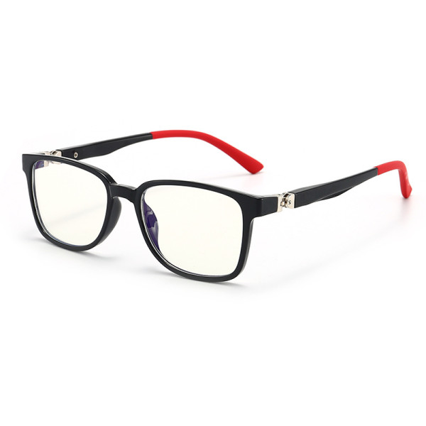 Kids 360 Degree Spring Frame Blu-ray Protection Optical Clear Glasses