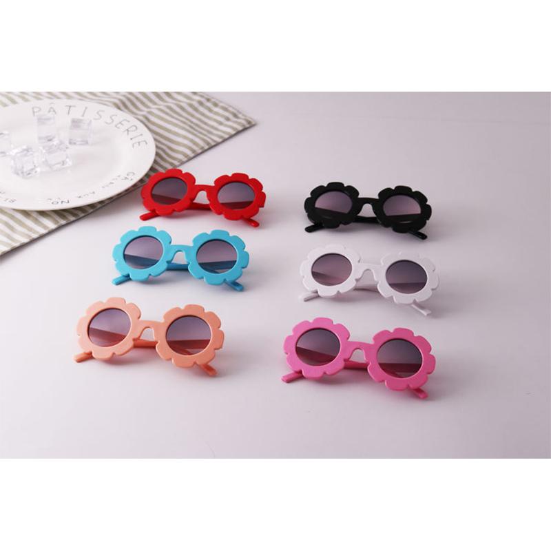 Kids Sunflower UV400 Silicone Sunglasses