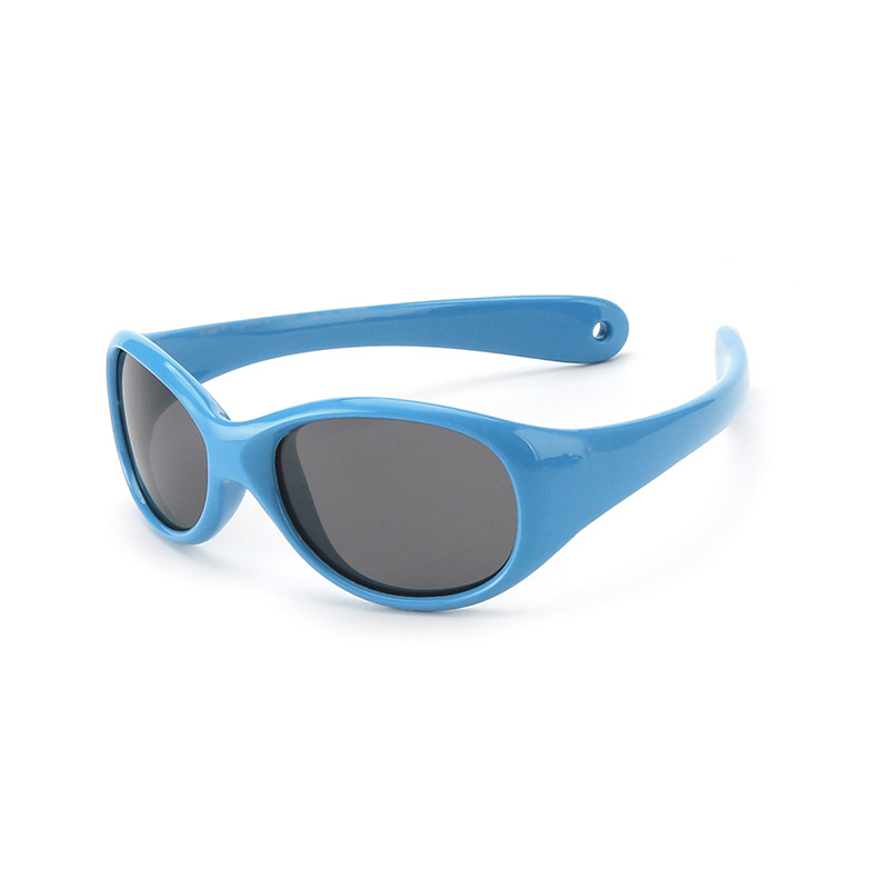Kids Outdoor Polarized Riding Sports Silicone Sunglasses