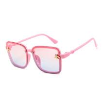 Kids Square Bee Glasses Anti-UV Protection Fashion Sunglasses