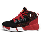 Boy Mesh Breathable Sports Basketball Sneakers Shoes