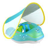Baby Toddlers Inflatable Swimming Float Swimming Circle With Sunshade