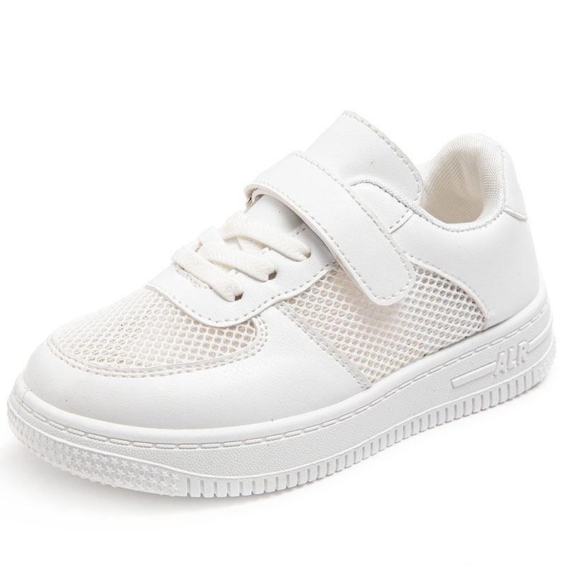 Kids Classic White Running Sneakers Sports Shoes