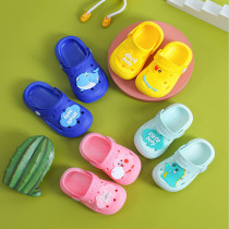 Toddler Kids Cute Duck Dinosaurs Beach Home Summer Slippers Shoes