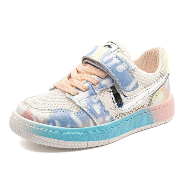 Kids Macthing Color Mesh Net Breathable Sneakers Shoes