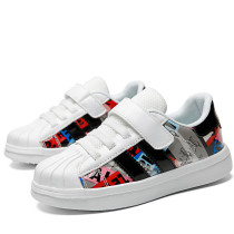 Kids Classic Prints Shell Toe Breathable Sneakers Flat Shoes