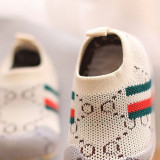 Baby Toddlers Breathable Knit Slip On Learn To Walk Sneakers Shoes