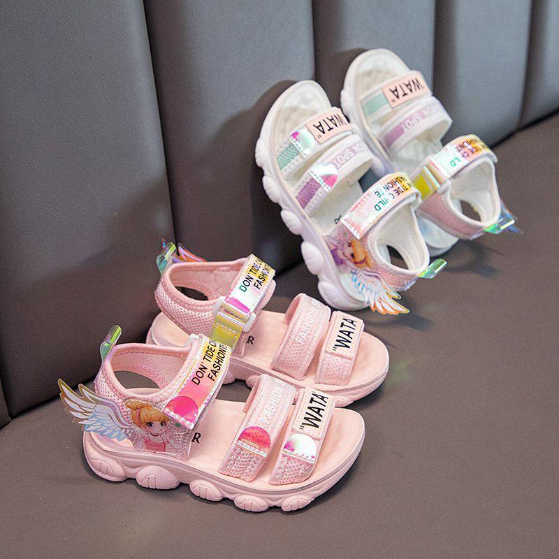 Kid Girl 3D Wing Lightweight Beach Sandals Shoes
