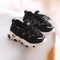 Baby Toddlers Kid Mesh Breathable Slip On Sneakers Sports Shoes