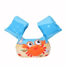 Toddler Kids Crab Swim Vest with Arm Wings Floats Life Jacket For Swim Pool