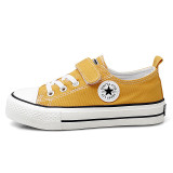 Kids Lace up Flat Slip On Canvas Shoes