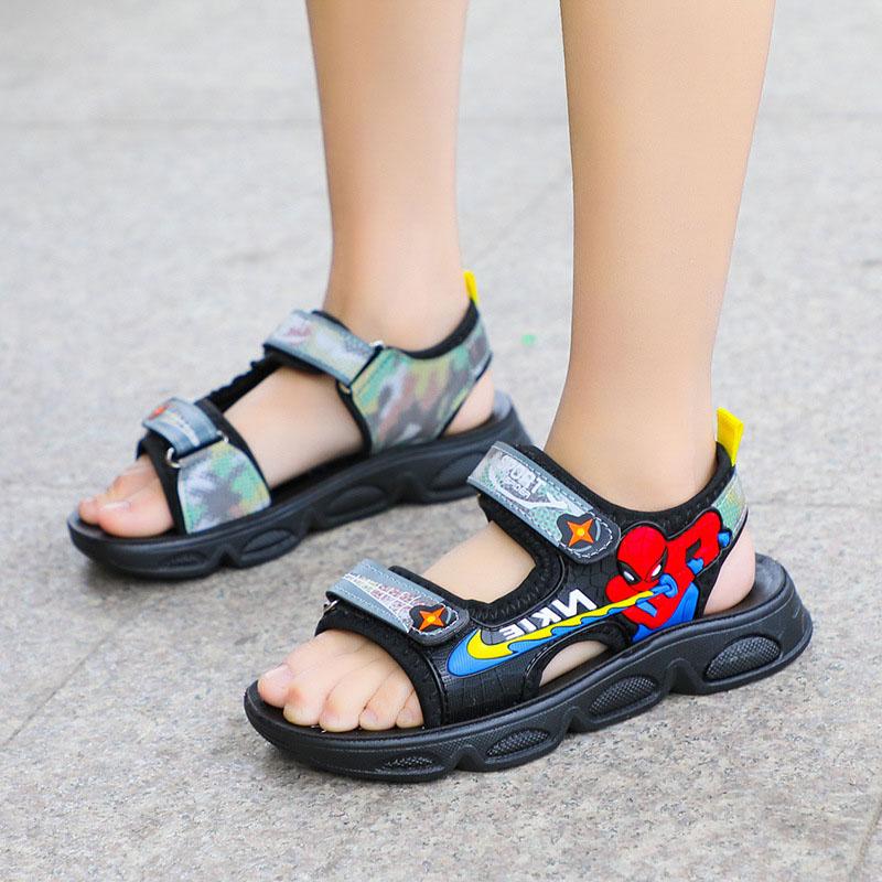 Kid Boy Spider Man Sports Sandals Shoes