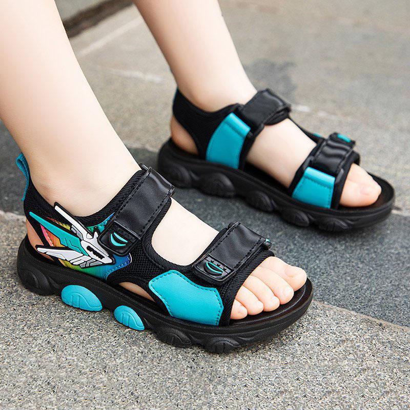 Kid Boy 3D Transformers Beach Sandals Shoes