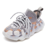 Kids Mesh Breathable Lace Up Sport Running Sneakers Shoes