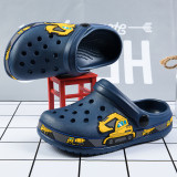 Toddler Kids Boy Dinosaurs Cars Beach Home Summer Slippers Shoes