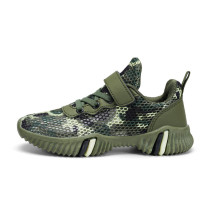 Kid Boy Net Camouflage Breathable Sports Sneakers Shoes For Summer
