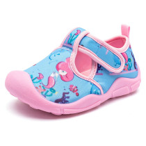 Kids Girl Cotton Unicorn Mermaid Beach Sandals Flat Shoes