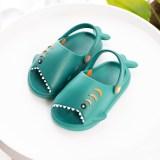 Kids 3D Cute Shark Summer Slippers Sandals Shoes