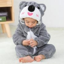 Baby Grey Koala Onesie Kigurumi Pajamas Animal Costumes for Unisex Babys