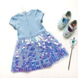Toddler Girls Frozen Elsa Sequins Princess Dress