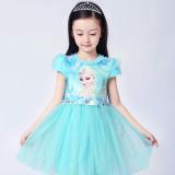 Toddler Girls Frozen Elsa Sequins Princess Tutu Dress