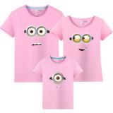 Matching Family Prints Minions Famliy T-shirts