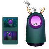 Electronic Mosquito Fly Killer Trap Deer Shape for Home Garden Physical Trap Design