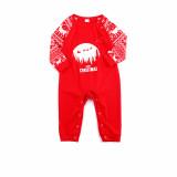 Christmas Santa Claus Moon Deer Christmas Family Matching Sleepwear Pajamas Sets