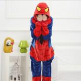 Family Kigurumi Pajamas Red Spider Onesie Cosplay Costume Pajamas For Kids and Adults
