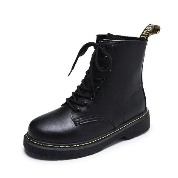 Classic Women's British Martin Motorcycle Boots Booties