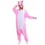 Family Kigurumi Pajamas Pink Unicorn Animal Onesie Cosplay Costume Pajamas For Kids and Adults
