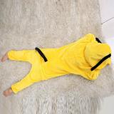 Family Kigurumi Pajamas Yellow Goofy Dog Animal Onesie Cosplay Costume Pajamas For Kids and Adults