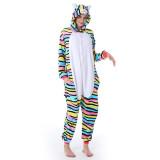 Family Kigurumi Pajamas 3 Colors Cat Animal Onesie Cosplay Costume Pajamas For Kids and Adults