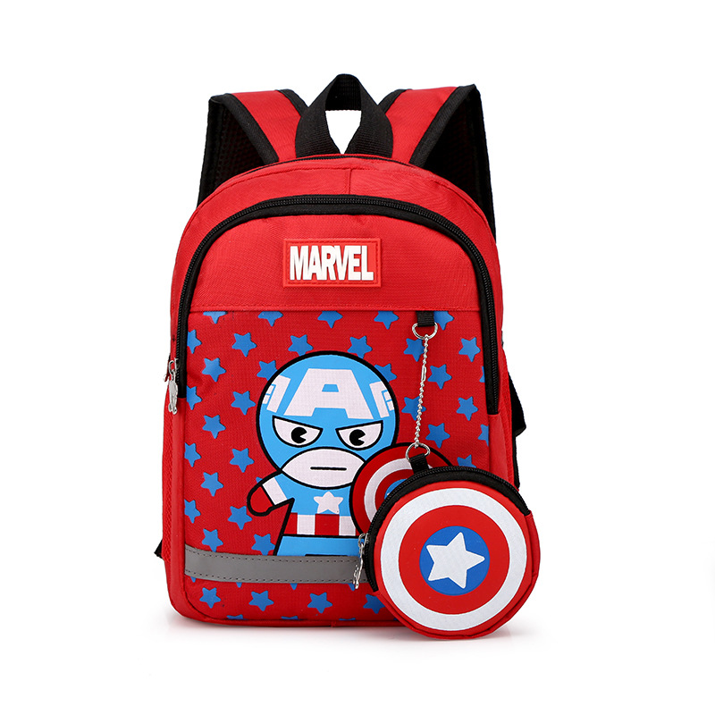 School Backpack Captain America School Bag For Kids