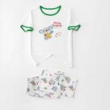Christmas Family Pajamas Set Cute Koala Merry Christmas T-shirt Tops and Matching Pants