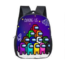 Rainbow Among us Primary School Students Waterproof School Bag