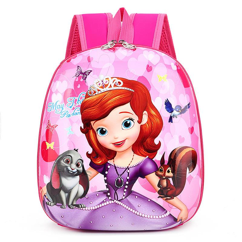 Toddler Kids Disney Princess Frozen Kindergarten Schoolbag Backpack Bag