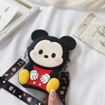 Cute Mickey Minnie Silicone Coin Purse Single Shoulder Bag
