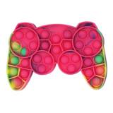 Game Handle Pop It Fidget Toy Push Pop Bubble Sensory Fidget Toy Stress Relief for Kids & Adult