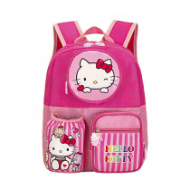 Toddler Kids Hello Kitty Kindergarten Schoolbag Backpack Bag