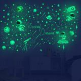 Home Decorative Creative Luminous Night Light Star Moon Decorative Wallpaper For Children's Room