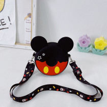 Mickey Donuts Mini Silicone Bag Shoulder Messenger Coin Purse