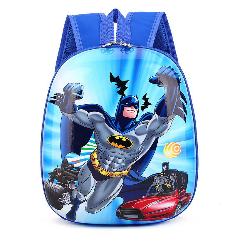Toddler Kids Batman Kindergarten Schoolbag Backpack Bag