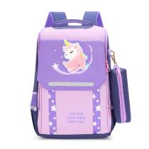 Unicorn Elementary School Backpack Student School Bag