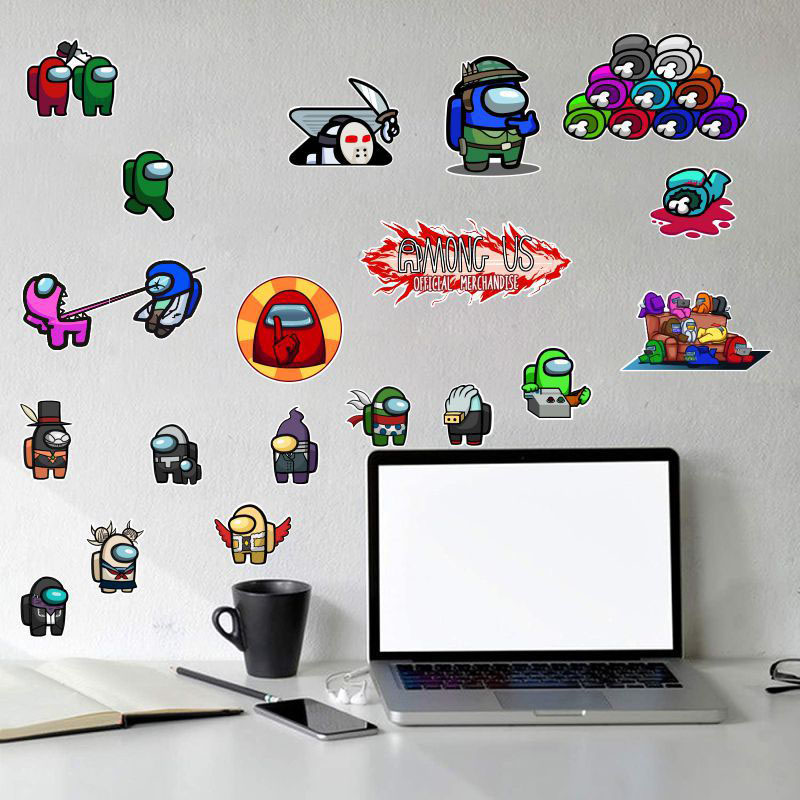 Home Decorative Among Us Game Wall Stickers Wallpape