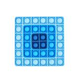 Ombre Square Ferrule Pop It Fidget Toy Push Pop Bubble Sensory Fidget Toy Stress Relief for Kids & Adult